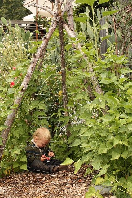 construir gruta jardim : construir gruta jardim:Como construir casinhas para crianças com elementos naturais – Jardim