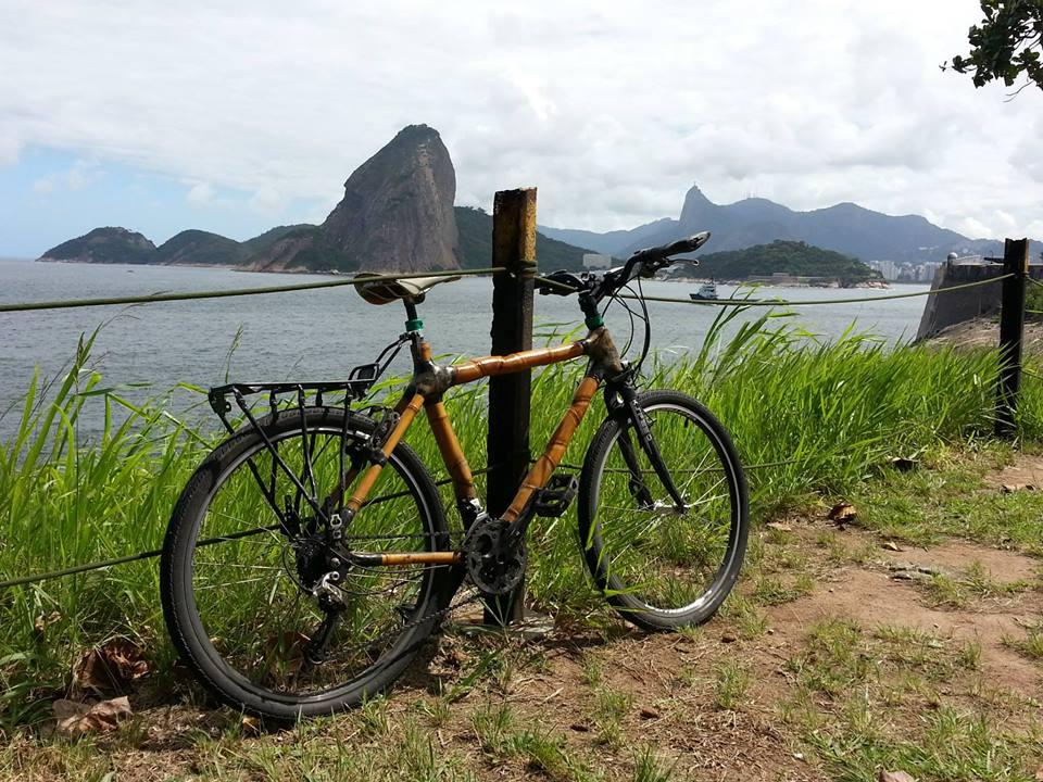 Dulcinéia, a bicicleta de bambu que vai rodar o mundo
