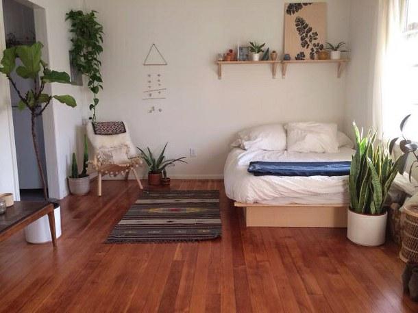 design-amazing-bed-bedroom-cool-girl-green-grunge-nature-plants-room