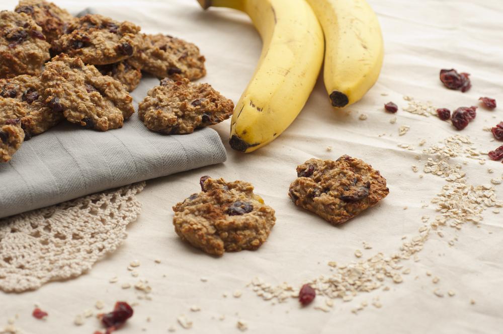 Cookie vegano de pêra e banana ⋆ Jardim do Mundo